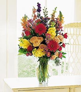 Medium Mixed Vase Arrangement by McAdams Floral, your Victoria, Texas (TX) Florist