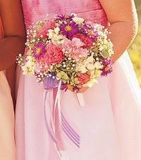 Flower Girl Nosegay by McAdams Floral, your Victoria, Texas (TX) Florist