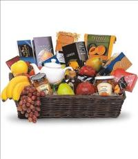 Grande Gourmet Fruit Basket by McAdams Floral, your Victoria, Texas (TX) Florist