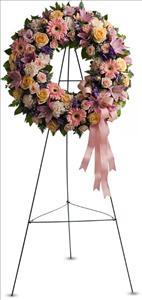 Graceful Wreath by McAdams Floral, your Victoria, Texas (TX) Florist