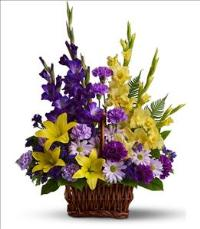 Basket of Memories by McAdams Floral, your Victoria, Texas (TX) Florist