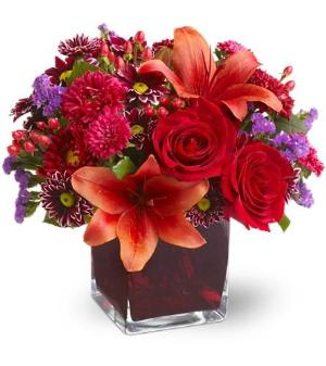 Teleflora's Autumn Grace by McAdams Floral, your Victoria, Texas (TX) Florist