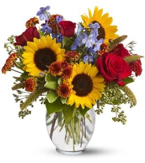 Sunny Skies by McAdams Floral, your Victoria, Texas (TX) Florist