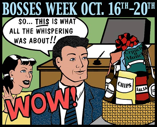 Bosses Week Oct 16 from McAdams Florist, Victoria, Texas