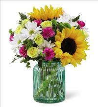 Sunlit Meadows Bouquet by Better Home and Gardens by McAdams Floral, your Victoria, Texas (TX) Florist