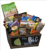 The Big Cheese Basket by McAdams Floral, your Victoria, Texas (TX) Florist