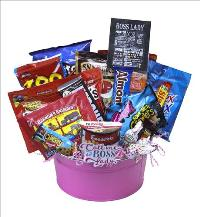 Boss Lady Snack Basket by McAdams Floral, your Victoria, Texas (TX) Florist