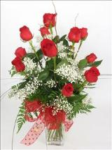 Red Chic by McAdams Floral, your Victoria, Texas (TX) Florist