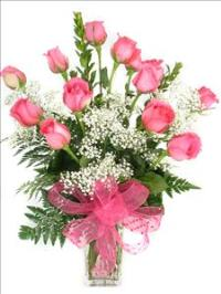 Pink Chic Roses by McAdams Floral, your Victoria, Texas (TX) Florist