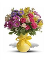 Color It Happy Bouquet by McAdams Floral, your Victoria, Texas (TX) Florist