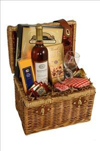 Gourmet Picnic Basket by McAdams Floral, your Victoria, Texas (TX) Florist