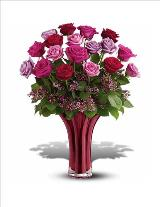 Ruby Nights Bouquet - 18 by McAdams Floral, your Victoria, Texas (TX) Florist