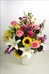 We Thank You For All You Do Bouquet by McAdams Floral, your Victoria, Texas (TX) Florist