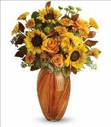 Golden Sunset Bouquet by McAdams Floral, your Victoria, Texas (TX) Florist