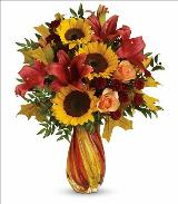 Autumn Beauty Bouquet by McAdams Floral, your Victoria, Texas (TX) Florist