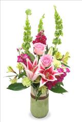 McAdams Sending Serenity Blossoms Bouquet by McAdams Floral, your Victoria, Texas (TX) Florist