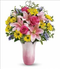 Pretty Petal Bouquet by McAdams Floral, your Victoria, Texas (TX) Florist