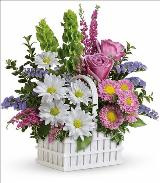 White Picket Bouquet by McAdams Floral, your Victoria, Texas (TX) Florist