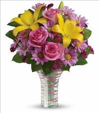 Spring Serenade Bouquet by McAdams Floral, your Victoria, Texas (TX) Florist