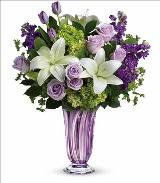 Royal Treasure Lavender Bouquet by McAdams Floral, your Victoria, Texas (TX) Florist
