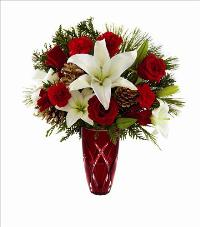 The FTD Holiday Celebrations Bouquet 2014 by McAdams Floral, your Victoria, Texas (TX) Florist