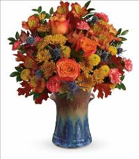 Classic Autumn Bouquet by McAdams Floral, your Victoria, Texas (TX) Florist