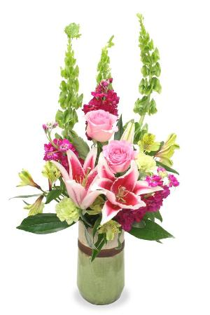 Sending Serenity Blossoms Bouquet by McAdams Floral, your Victoria, Texas (TX) Florist