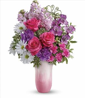 Petal Perfect Bouquet by McAdams Floral, your Victoria, Texas (TX) Florist