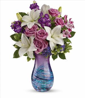Artful Elegance Bouquet by McAdams Floral, your Victoria, Texas (TX) Florist