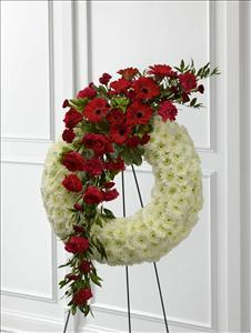 The FTD® Graceful Tribute™ Wreath by McAdams Floral, your Victoria, Texas (TX) Florist