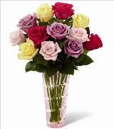 The Mothers Day Mixed Rose Bouquet by McAdams Floral, your Victoria, Texas (TX) Florist