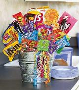 Junk Food Basket by McAdams Floral, your Victoria, Texas (TX) Florist