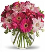 A Little Pink Me Up by McAdams Floral, your Victoria, Texas (TX) Florist