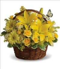 Basket Full of Wishes by McAdams Floral, your Victoria, Texas (TX) Florist