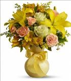 Sunny Smiles Bouquet by McAdams Floral, your Victoria, Texas (TX) Florist