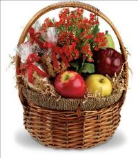 Health Nut Basket by McAdams Floral, your Victoria, Texas (TX) Florist