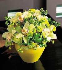 Green Texture Bowl by McAdams Floral, your Victoria, Texas (TX) Florist