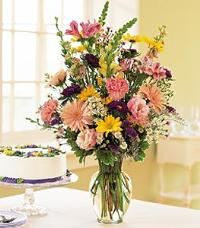 Birthday Pastels by McAdams Floral, your Victoria, Texas (TX) Florist