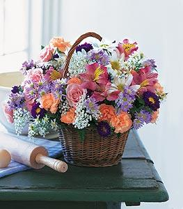 Country Basket by McAdams Floral, your Victoria, Texas (TX) Florist