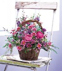 Basket of Blossoms by McAdams Floral, your Victoria, Texas (TX) Florist
