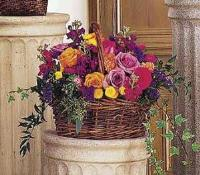 Mounded Basket by McAdams Floral, your Victoria, Texas (TX) Florist